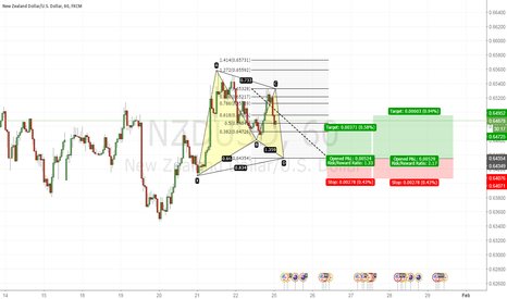 NZDUSD: Bullish Gartley Pattern