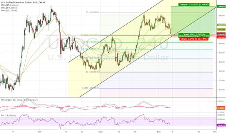 USDCAD: USDCAD target 1.0600