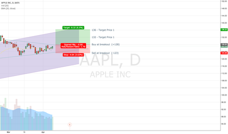 AAPL: Waiting For A Triangle Breakout