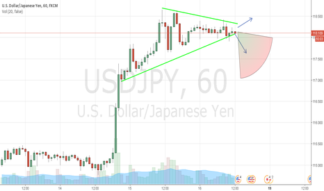 USDJPY: Dow  or Up