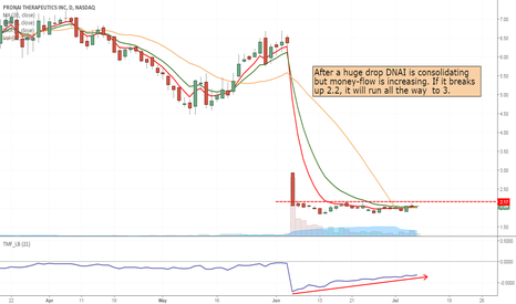 DNAI: DNAI- long in break out of consolidation