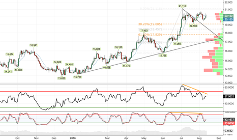 XAGUSD: Negative divergence warning to longs in overcrowded Silver trade
