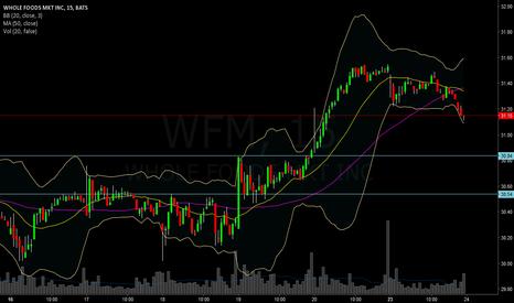 WFM: Buying WHole foods upon pullback