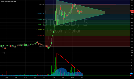BTCUSD: This flag will start a new rally. Maybe to the f***in moon!