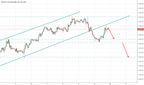 XAUUSD: Gold may go down