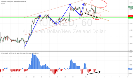 AUDNZD: AUDNZD bull flag with up momentum