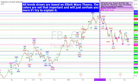 FB: FACEBOOK ELLIOTT WAVE THEORY TRADES