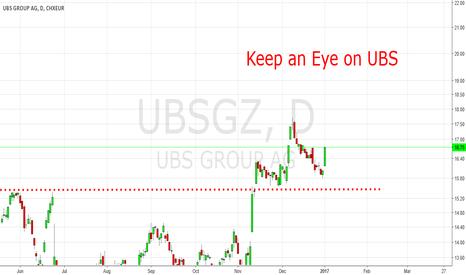 UBSG: Keep An Eye On UBS