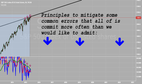 SPX500: Principles to mitigate some common errors that all of is commit
