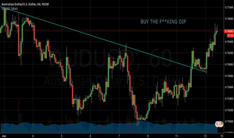 AUDUSD: BUY THE F**KING DIP