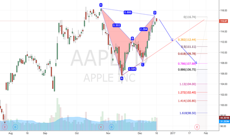 AAPL: AAPL Bearish Bat