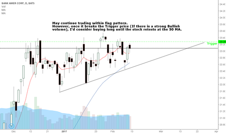BAC: Watch for BAC potential breakout point