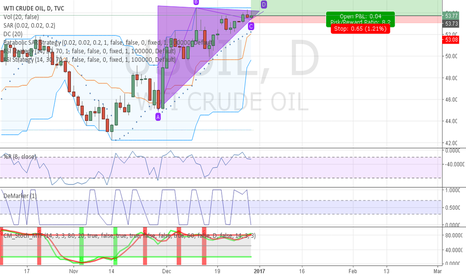 USOIL: Triangle before big growth