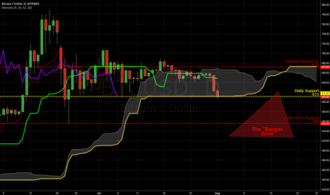 BTCUSD: The Bitcoin Danger Zone