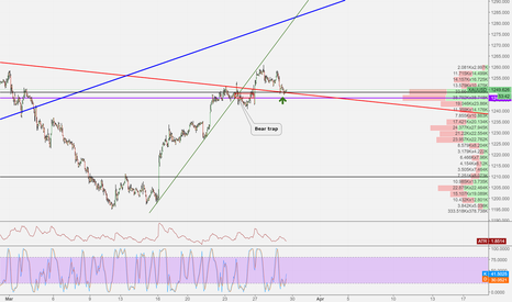 XAUUSD: Bear trap become support
