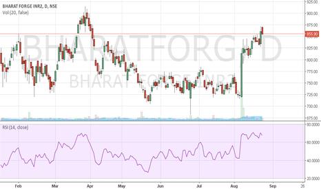 BHARATFORG: very good stock
