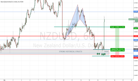 NZDUSD: NZDUSD (H1) plan B was the winner