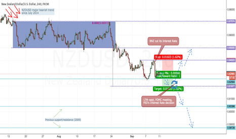 NZDUSD: NZDUSD: after BNZ cut its interest rate, before FED meeting
