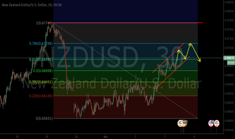 NZDUSD: NZDUSD M30 Upward Movement