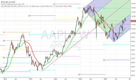 AAPL: APPLE WATCH FOR SANTA CLAUS RALLY, THEN FAILURE
