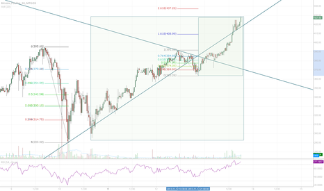 BTCUSD: Unsustainable, the crash is nigh.