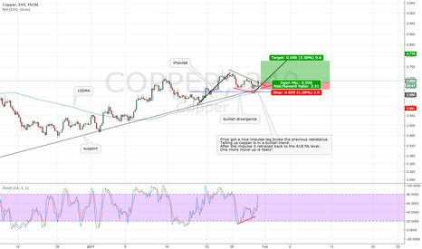 COPPER: Copper continuation expected