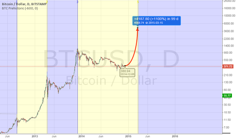 BTCUSD: Bitcoin long time predictiion.
