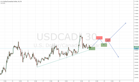 USDCAD: USD/CAD Breakout- Continuation or topping for pullback ??