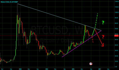 BTCUSD: Bitcoin's future known by years end.