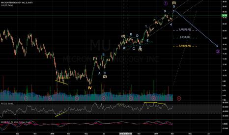 MU: MU - mid sort term bearish correction