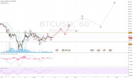BTCUSD: Bitcoin finding a path to 1000