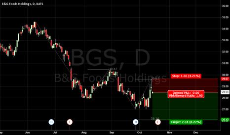 BGS: B&G Foods holdings