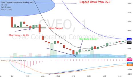 CVEO: When investor felt betrayed... bashing follows