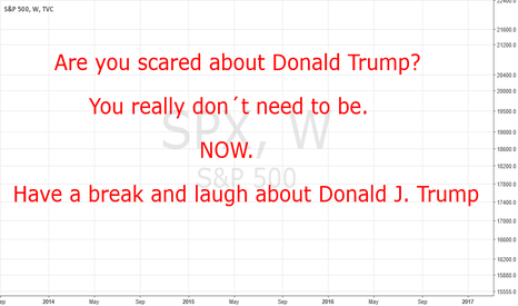 SPX: Do not be scared about Donald Trump. Just laugh!