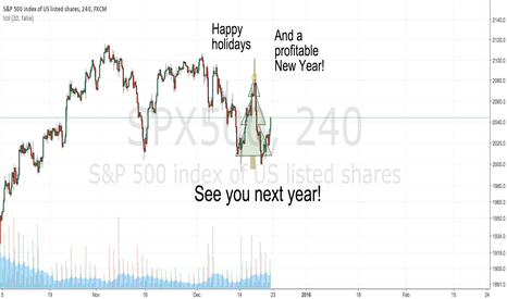 SPX500: Happy holidays and a profitable new year!