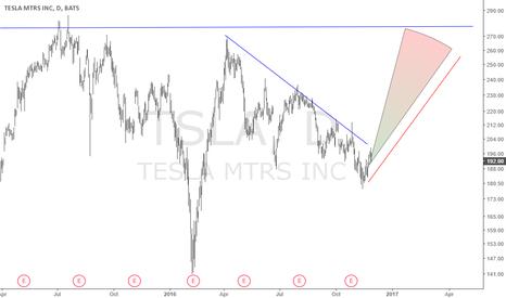 TSLA: Tesla Motors projection