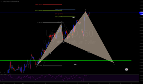 USDCAD: cypher alert!