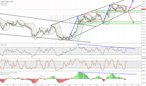 XAUUSD: Gold, Continuation or Sell off