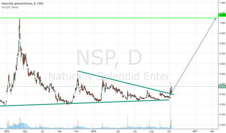 NSP: NSP Buy/ wedge breakout