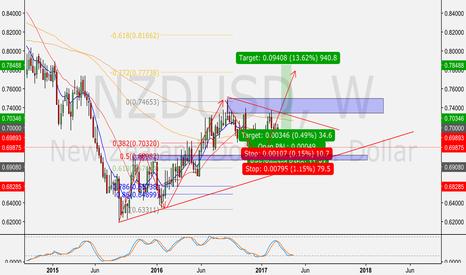 NZDUSD: NZD/USD Long Term