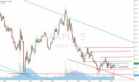 AAPL: Long on AAPL short term