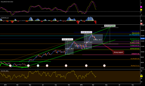 AAPL: Wait to touch the strong support