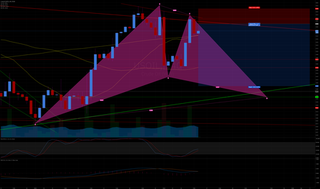 USOIL: WTI Crude Gartley Continuation