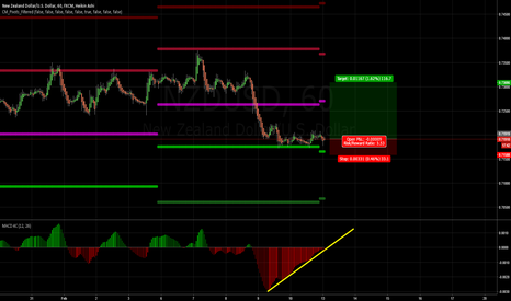 NZDUSD: NZDUSD Might be a little early, but looks like a good RR