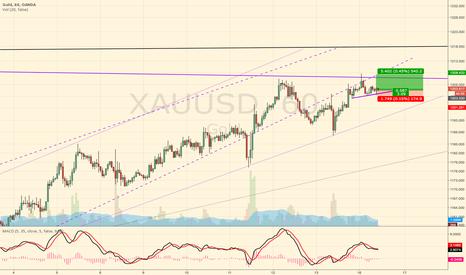XAUUSD: Scalp long in Gold