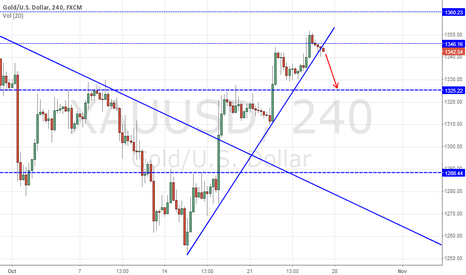 XAUUSD: You can correct up to the level of 1330.