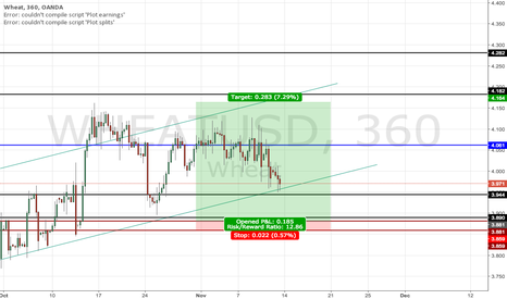 WHEATUSD: Wheat Trade
