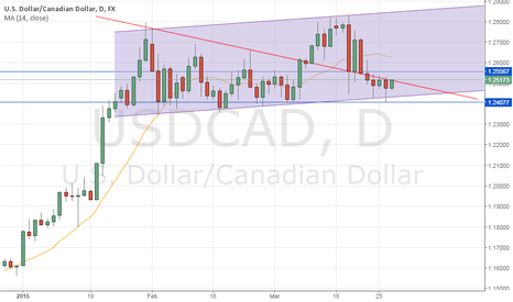 USDCAD: Long USDCAD ahead of Jan GDP