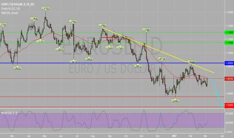 EURUSD: EUR/USD Daily Chart : Under Pressure.