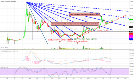 """BTCUSD: BTC WEEKLY CHART: """"The Panic Zone""""  THEY'RE BAAAACK!"""